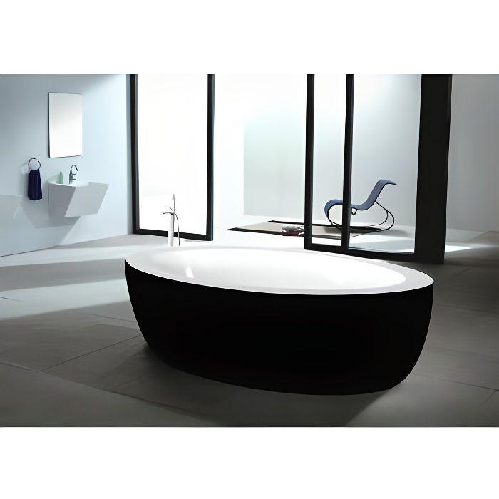 Baignoire lot marmara en acrylique renforc 206 achat vente baignoire - Baignoire acrylique renforce ...