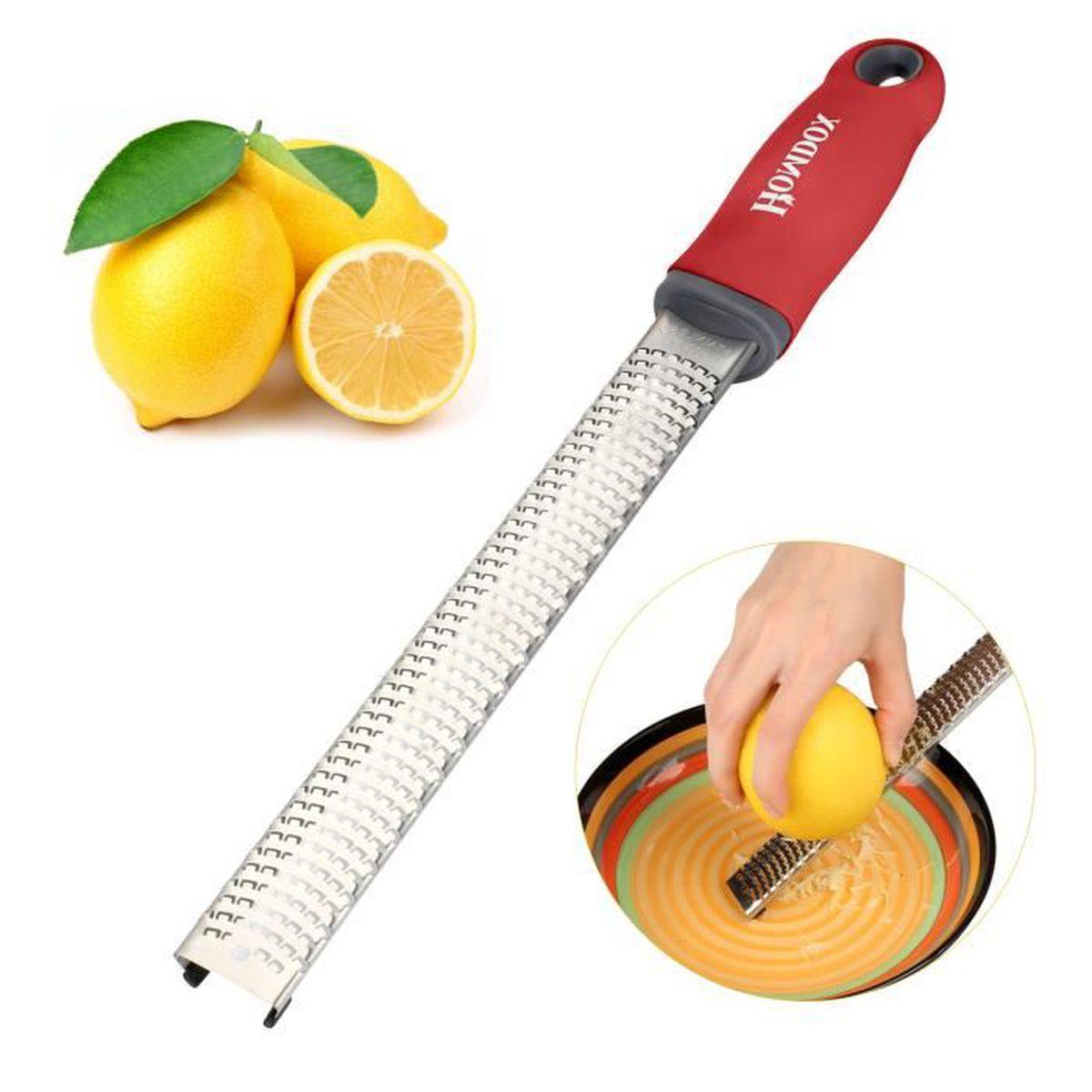 R pe citron ustensile de cuisine multifonction inox r pe for Ustensile de cuisine pour gaucher