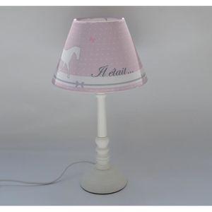 Lampe princesse achat vente lampe princesse pas cher for Lampe de chevet a pince