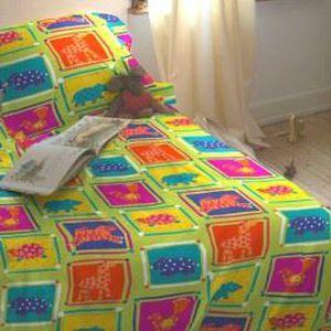 housse de couette enfant zanimo taie achat vente housse de couette cdiscount. Black Bedroom Furniture Sets. Home Design Ideas