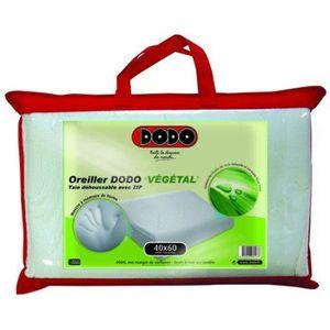 Oreiller en mousse vegetale a memoire de forme achat vente oreiller en mo - Oreiller dodo vegetal 60x60 ...