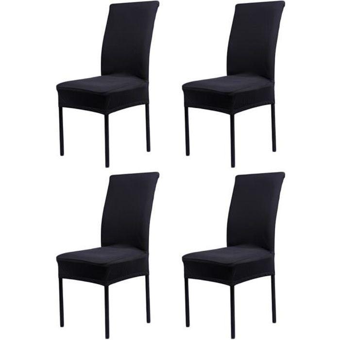 housse de chaise tissu achat vente housse de chaise tissu pas cher cdiscount. Black Bedroom Furniture Sets. Home Design Ideas