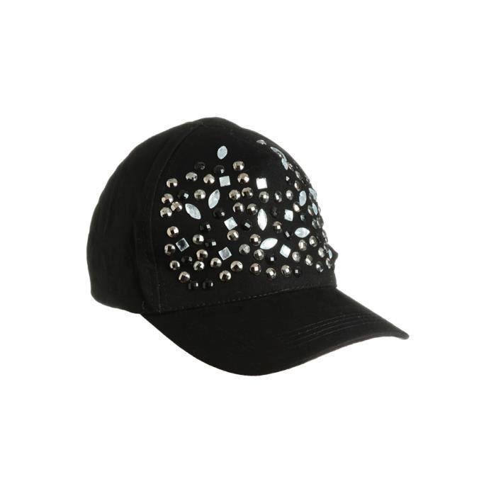 casquette femme noir noir achat vente casquette 2009974312933 cdiscount. Black Bedroom Furniture Sets. Home Design Ideas