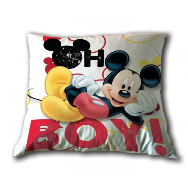 Coussin mickey achat vente coussin cdiscount for Decoration maison mickey