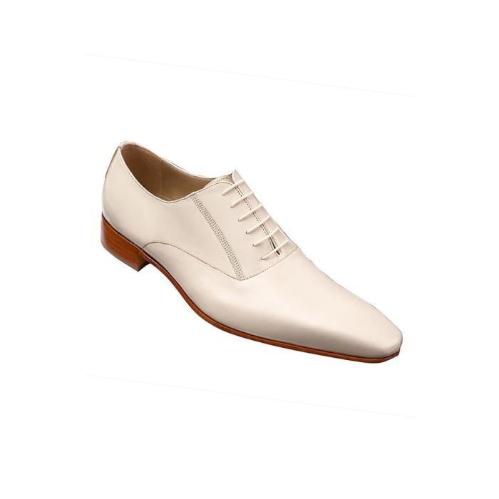chaussures homme cuir beige be beige beige achat vente richelieu cdiscount. Black Bedroom Furniture Sets. Home Design Ideas