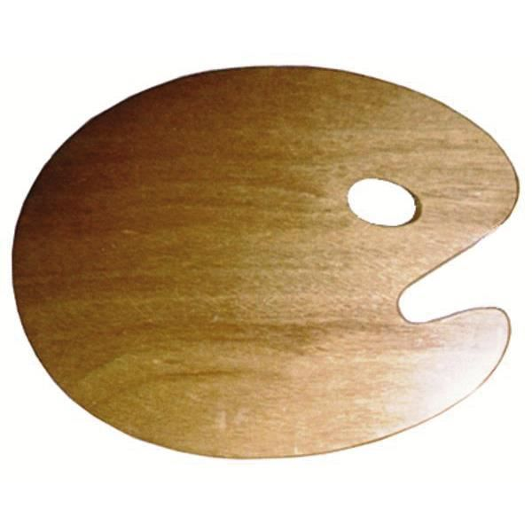 Palette ovale en bois 25x30cm pi c 3mm bo achat for Bois de palette a donner