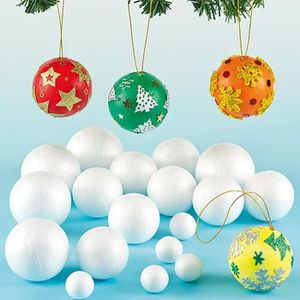 Decoration de noel a peindre achat vente decoration de for Decorer boules de noel polystyrene