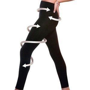 LEGGING Leggings Minceur Anti-Cellulite  (XL - Noir)