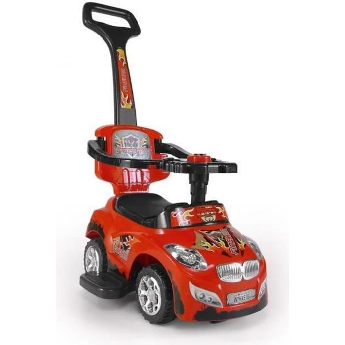 v hicule porteur poussoir voiture porteuse voiture pour enfants 3 en 1 tige de pouss e. Black Bedroom Furniture Sets. Home Design Ideas