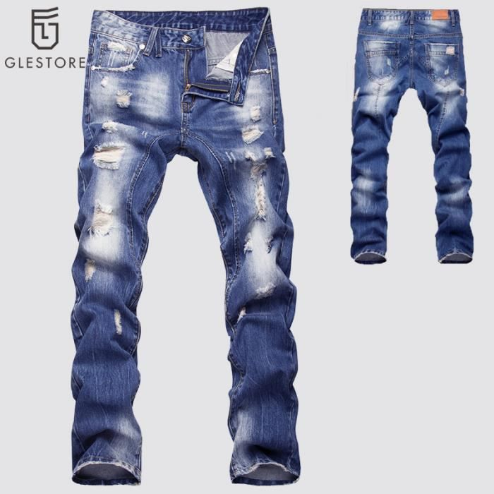 glestore jeans homme pantalon homme bleu. Black Bedroom Furniture Sets. Home Design Ideas