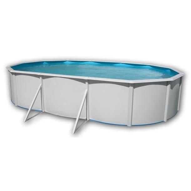 mallorca piscine en acier ovale 640x366x120 achat vente piscine piscine hors sol en acier. Black Bedroom Furniture Sets. Home Design Ideas