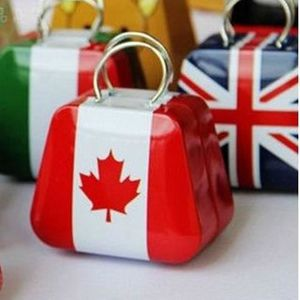 bote drages 10 botes drages valise drapeau canada - Valise Dragees Mariage