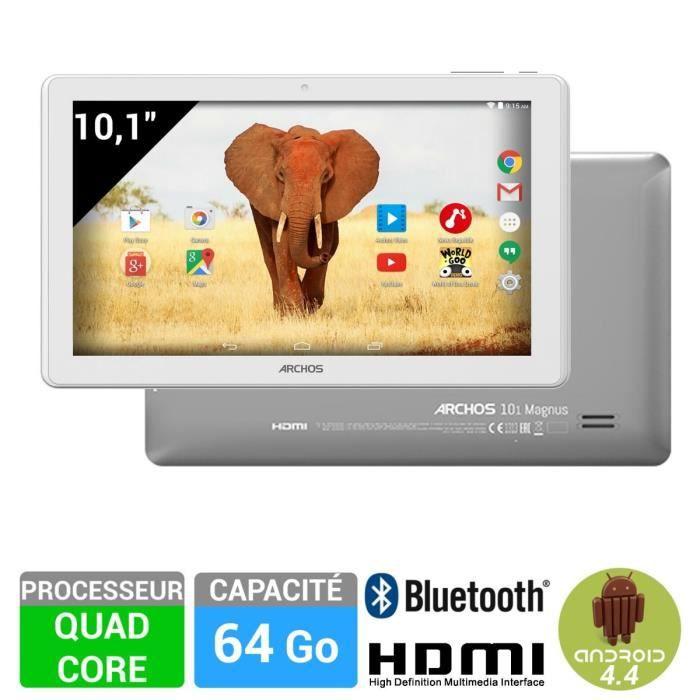 informatique tablettes tactiles ebooks archos  magnus tablette quad core g f