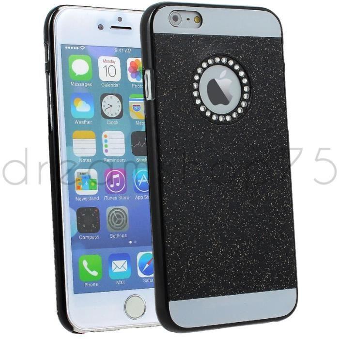 Coque housse diamants g2 pour iphone 6 plus noir achat for Housse pour iphone 6