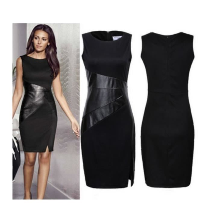robe casual robe soir e robe cocktails robe courte l gante robe noir achat vente robe. Black Bedroom Furniture Sets. Home Design Ideas