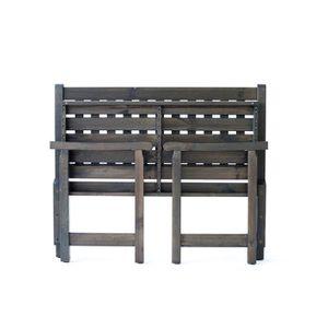 banc de jardin en bois achat vente pas cher les soldes sur cdiscount cdiscount. Black Bedroom Furniture Sets. Home Design Ideas