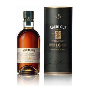 WHISKY BOURBON SCOTCH Aberlour 16 ans Double cask
