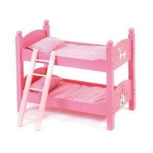 lit pour poupee rose achat vente jeux et jouets pas chers. Black Bedroom Furniture Sets. Home Design Ideas