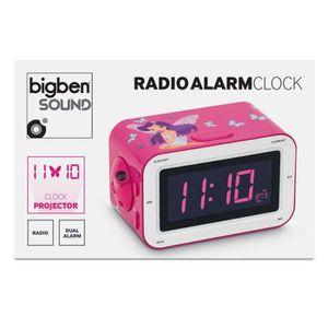 radio reveil rose achat vente radio reveil rose pas cher cdiscount. Black Bedroom Furniture Sets. Home Design Ideas