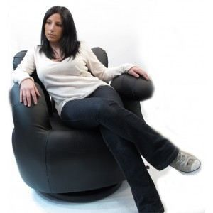 fauteuil main noir achat vente fauteuil cdiscount. Black Bedroom Furniture Sets. Home Design Ideas