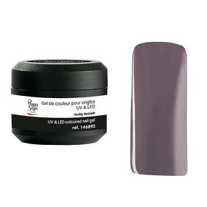 FAUX ONGLES Gel UV techni color nutty brown Peggy Sage