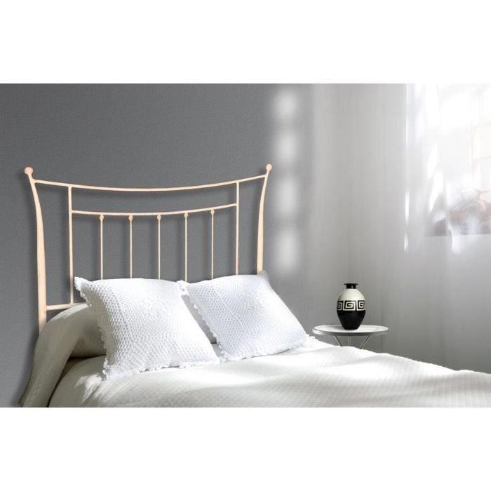 t te de lit en fer forg mod le thais achat vente. Black Bedroom Furniture Sets. Home Design Ideas