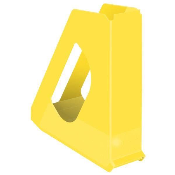 esselte porte revue vivida jaune achat vente classeur esselte porte revue jaune les soldes. Black Bedroom Furniture Sets. Home Design Ideas