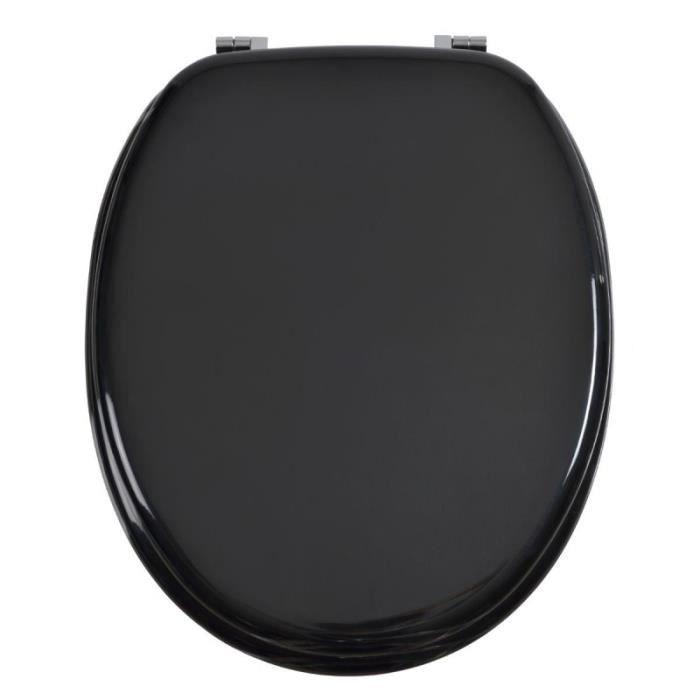 paris prix abattant wc en bois luxe noir achat. Black Bedroom Furniture Sets. Home Design Ideas