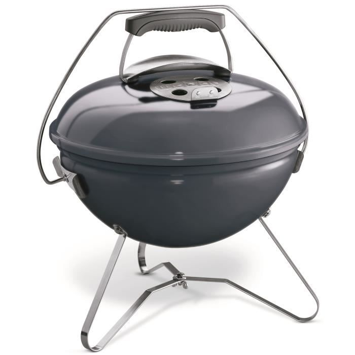 Weber barbecue charbon smokey joe 37cm table de cuisson - Barbecue charbon de table ...