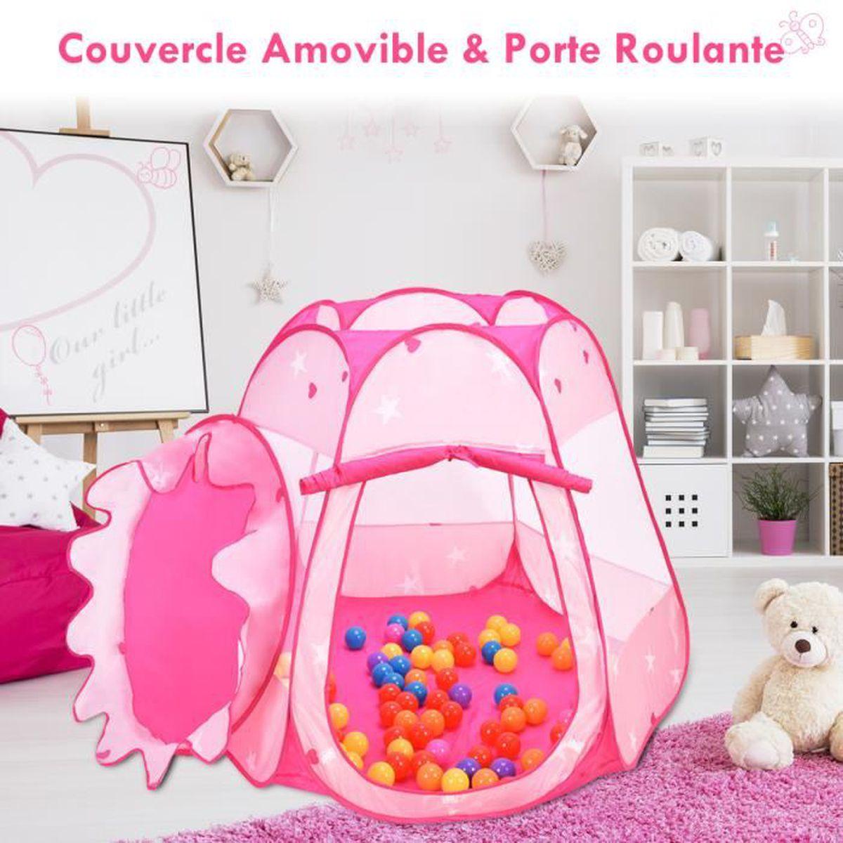 tente de jeu pour enfants maison jouet b b pop up 100 boules a picines boules achat vente. Black Bedroom Furniture Sets. Home Design Ideas