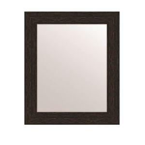 MIROIR MIRRA Miroir rectangulaire 40x50 cm Wengé