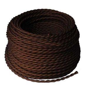 cable electrique textile achat vente cable electrique textile pas cher soldes cdiscount. Black Bedroom Furniture Sets. Home Design Ideas