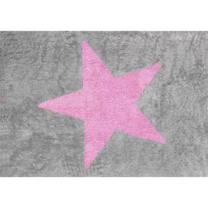 tapis rose et gris achat vente tapis rose et gris pas cher soldes cdiscount. Black Bedroom Furniture Sets. Home Design Ideas