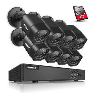dvr 8 cameras achat vente dvr 8 cameras pas cher cdiscount. Black Bedroom Furniture Sets. Home Design Ideas