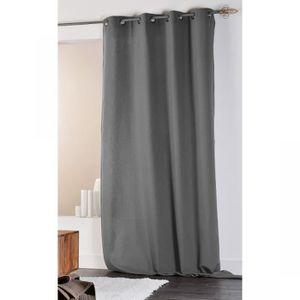 rideau coton couleur lin achat vente rideau coton couleur lin pas cher soldes cdiscount. Black Bedroom Furniture Sets. Home Design Ideas