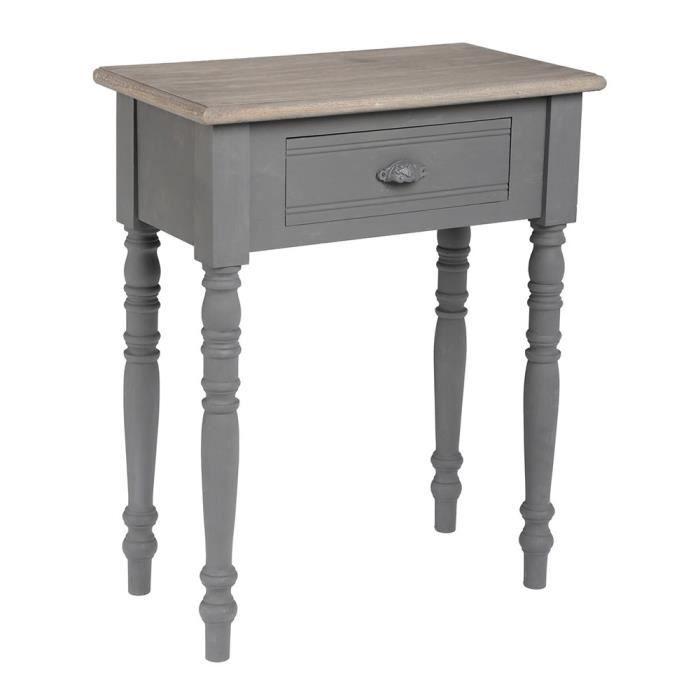 Table de chevet m mories achat vente bout de lit table for Hauteur table de chevet