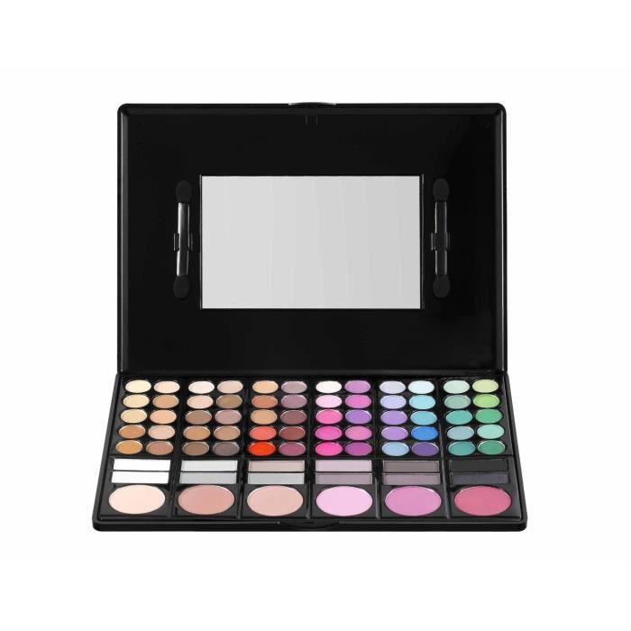78 couleurs maquillage palette fard paupi res blush brillant l vre achat vente fard. Black Bedroom Furniture Sets. Home Design Ideas