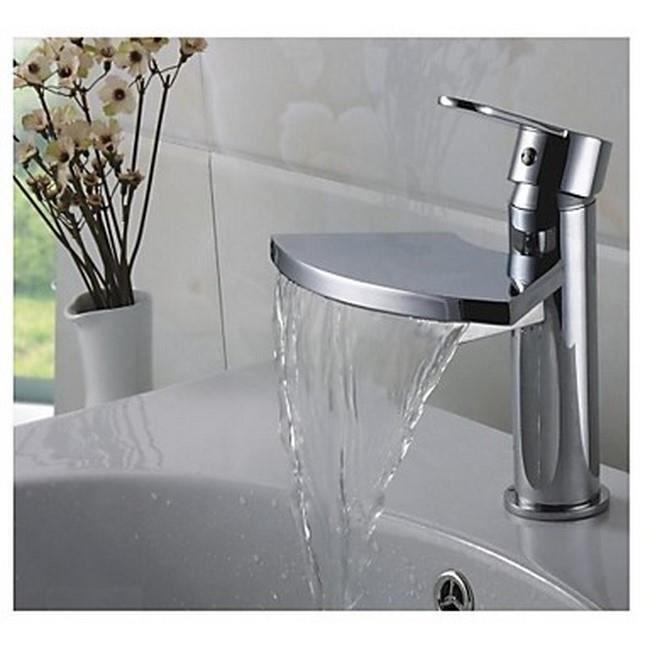 Lookshop robinet de salle de bain bec large achat for Robinet de salle de bain