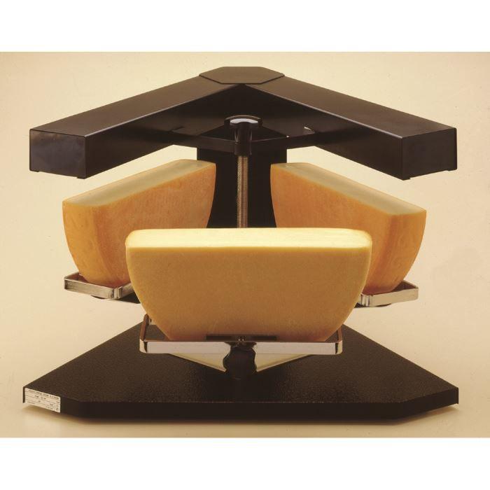 Appareil raclette trio triple fromage bron co achat - Appareil a raclette pour deux ...