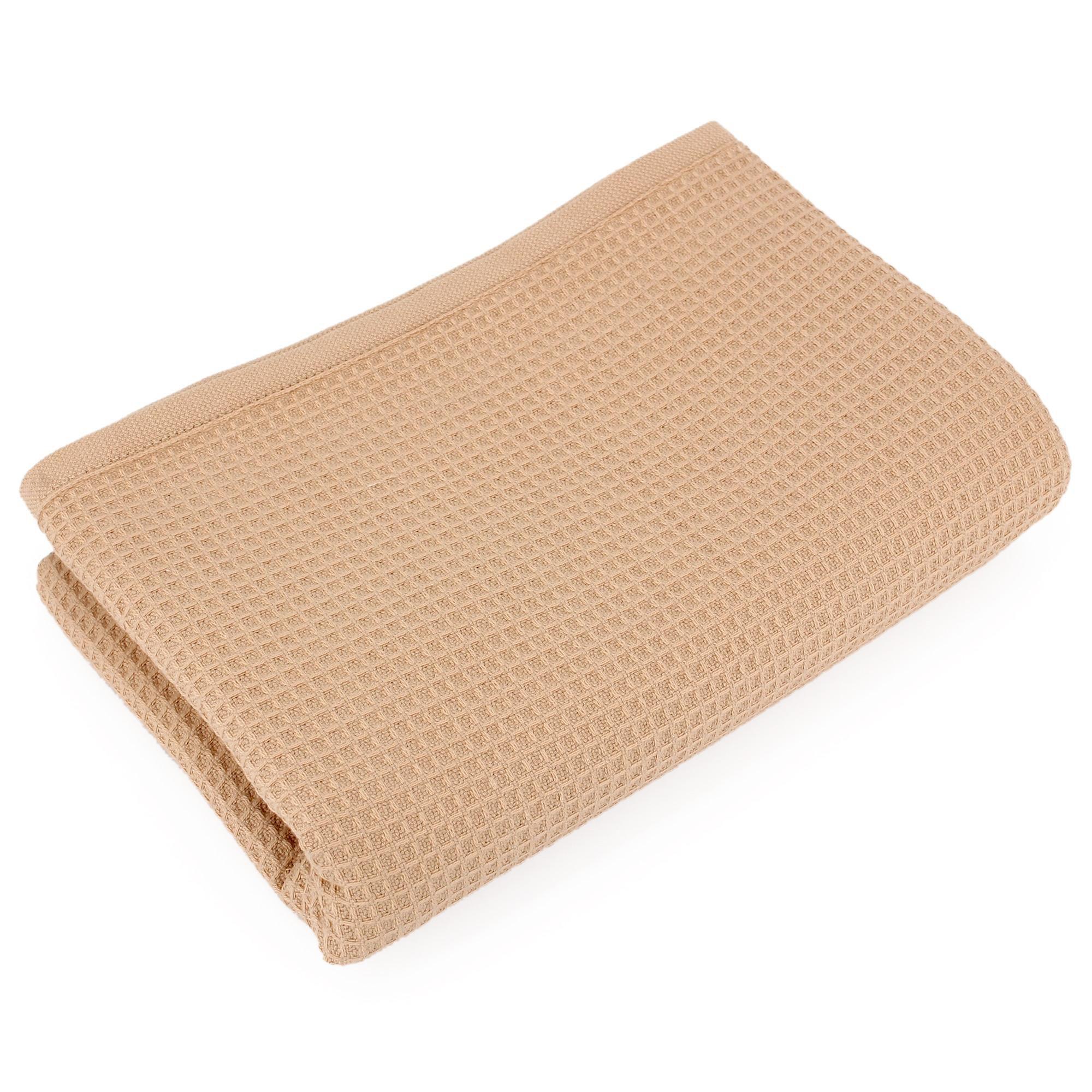 serviette de toilette 50x100 cm nid d 39 abeille p achat. Black Bedroom Furniture Sets. Home Design Ideas