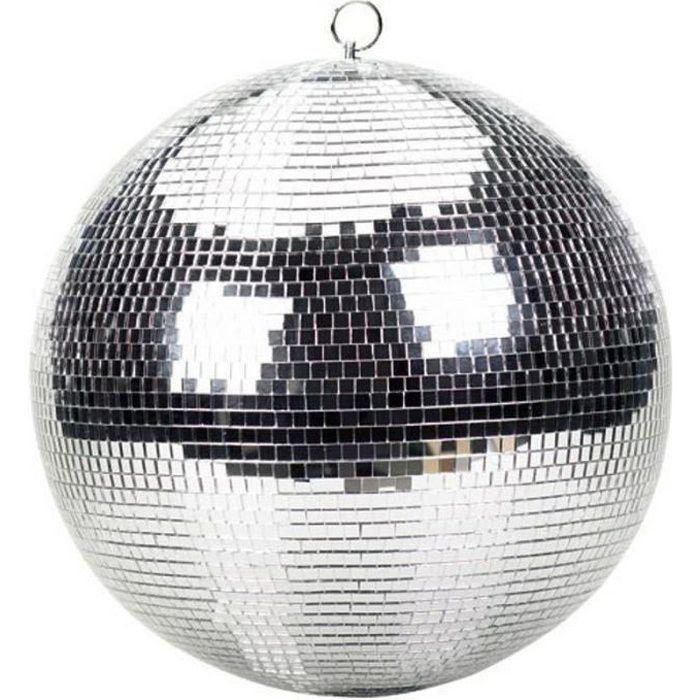 Boule facettes disco 30cm montage plafond boule a facettes avis et prix - Ampoule boule a facette ...