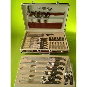 Valise mallette couteaux professionnel scheffler achat - Malette de couteaux pradel excellence 25 pieces ...