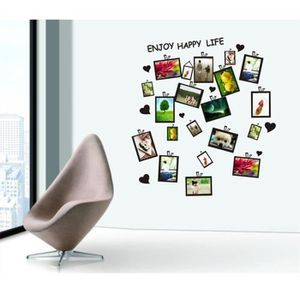 stickers cadre photo achat vente stickers cadre photo pas cher cdiscount. Black Bedroom Furniture Sets. Home Design Ideas