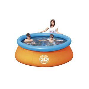 PISCINE piscine autoportante ronde 2.13x0.66 m bestway