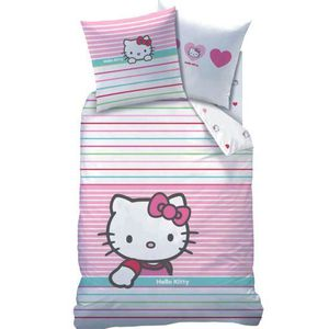 Housse de couette hello kitty 1 personne achat vente housse de couette hello kitty 1 - Parure de lit hello kitty 2 personnes ...