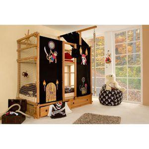 lit bus achat vente lit bus pas cher cdiscount. Black Bedroom Furniture Sets. Home Design Ideas
