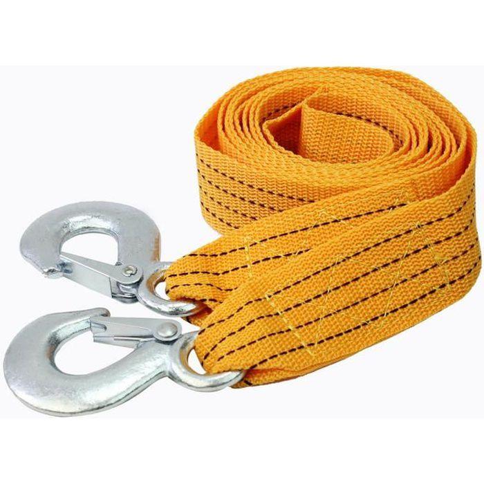 3 tons sangle corde traction remorquage crochets en fer. Black Bedroom Furniture Sets. Home Design Ideas