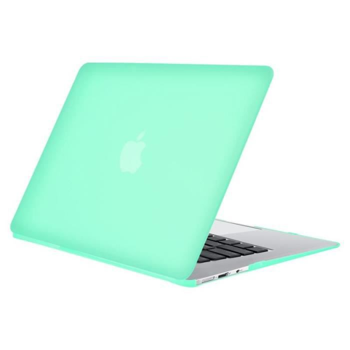 insten 174 pour apple macbook air 11 quot pouces vert housse 233 tui protection coque caoutchouc achat