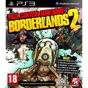 PACK ACCESSOIRE BORDERLANDS 2 PACK CONTENU ADDITIONNEL / PS3