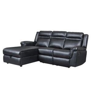 petit canape avec meridienne achat vente petit canape avec meridienne pas cher cdiscount. Black Bedroom Furniture Sets. Home Design Ideas